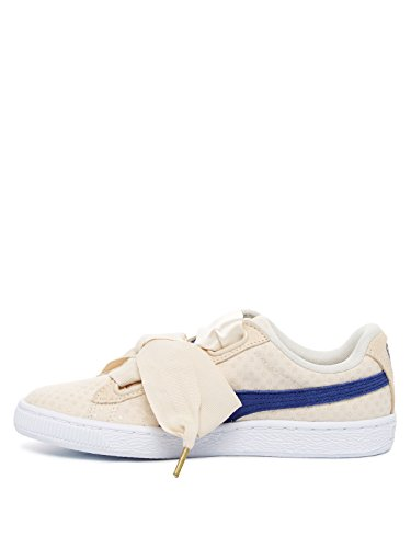 baskets mode puma 363229 suede heart rese wns rose