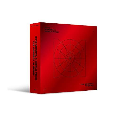 Starship Entertainment [KIHNO Video] 2018 Monsta X World Tour The Connect in Seoul KIHNO Video+KIHNO Pouch+Key Ring+7Photocards+Extra Photocards Set
