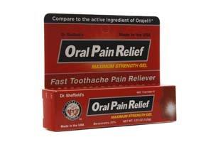 Oral soulagement de la douleur du Dr Sheffield (Pack de 2)