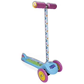 Darpeje Patinete Flex 3 Ruedas Peppa Pig: Amazon.es ...