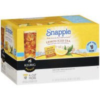 Snapple Kcup Lemon Iced Tea 12 Count (Pack of 6) by Snapple
