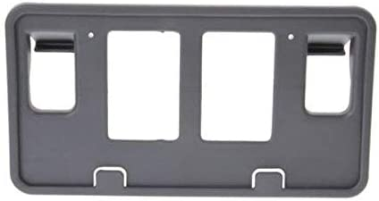 I-MATCH AUTO PARTS FRONT LICENSE PLATE BRACKET TAG HOLDER REPLACEMENT for 2006-2008 FORD PICKUP/_FORD/_LIGHTDUTY FO1068137 6L3Z17A385AAA BLACK TEXTURED