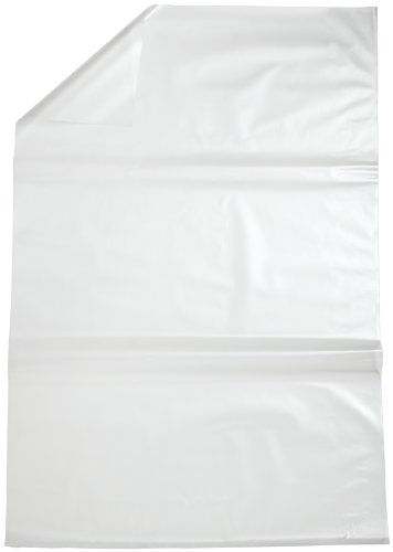 Bel-Art F13162-0005 Polypropylene 15-20 Gallon Clear Biohazard Disposal Bags without Warning Label; 24 in. W x 36 in. H, 1.5 mil Thick (Pack of 100)