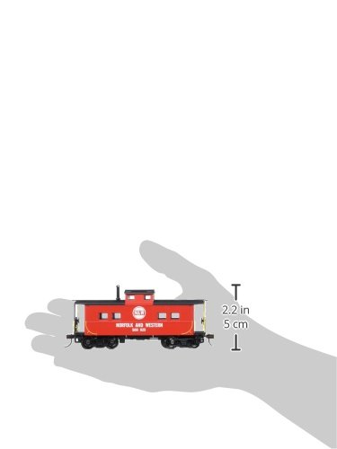 Bachmann Industries Norfolk & Western Red #500825 Northeast Steel Caboose (HO Scale Train) by Bachmann Trains (Image #2)