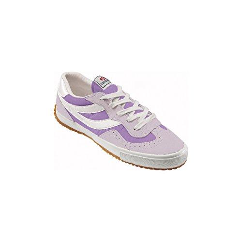 Superga 2832-NYLU Zapatillas de ante, Unisex - Adulto Pink-Violet-White