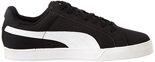 09 Adulte black De Chaussures Vulcanised Puma white Mixte Tennis Noir Smash wPUvFqxT