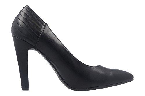 ANDRES MACHADO - Damen Pumps - Schwarz Schuhe in Übergrößen