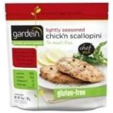 Gardein Lightly Seasoned Chickn Scallopini, 10 Ounce - 8 per case.