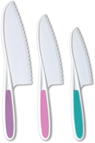 Tovla Knives 3 Piece Nylon Kitchen