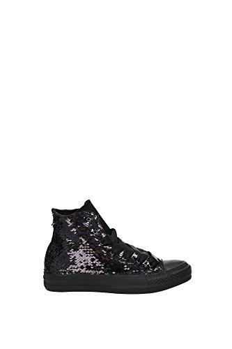 Sneakers Converse Mujer Lentejuelas Negro / Blanco y Gris 1C16FA18 Negro 36EU