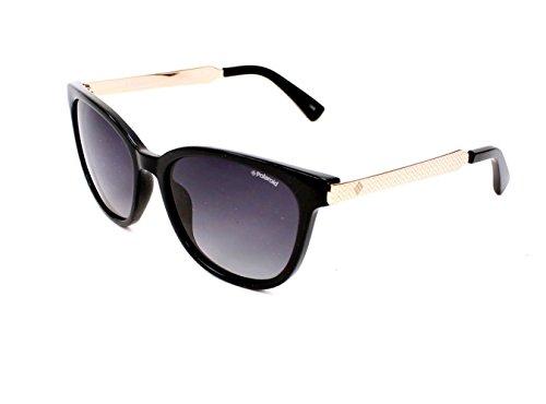 Polaroid 5015/S BMB Black / Rose Gold 5015/S Wayfarer Sunglasses Polarised - Sunglasses Polarised Polaroid