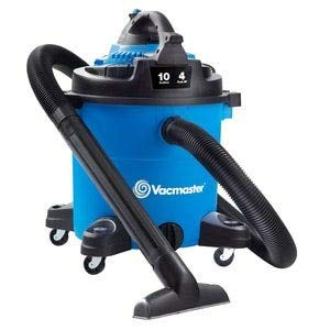 Vacmaster Vacmaster-10 Gallon 4 HP Wet/Dry Vacuum with Detachable Blower (VBVA1010PF), Blue