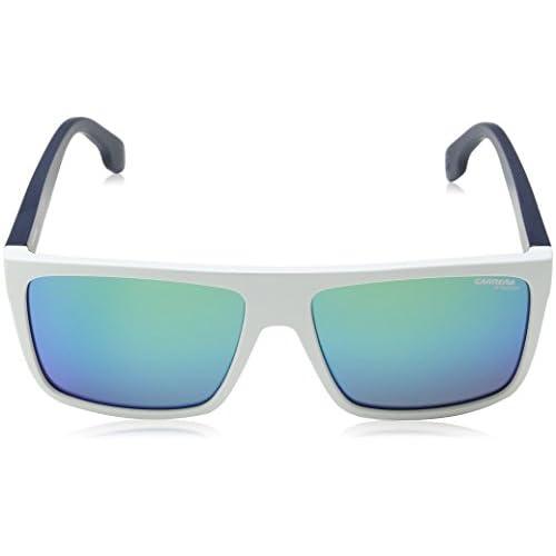487c1cbc73 Carrera 5039/S Z9, Gafas de Sol Unisex-Adulto, Whiteblusmbl, 58 ...