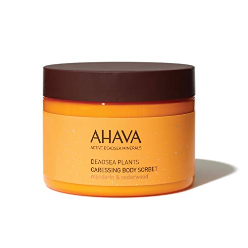 AHAVA Dead Sea Plants Caressing Body Sorbet, 12.3 Fl Oz Ahava Mineral Body Lotion