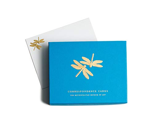 Note Dragonfly Card - Thank You Notes Wedding Thank You Cards Baby Shower Thank You Cards Graduation Blank Note Cards with Envelopes Box 25 Dragonflies