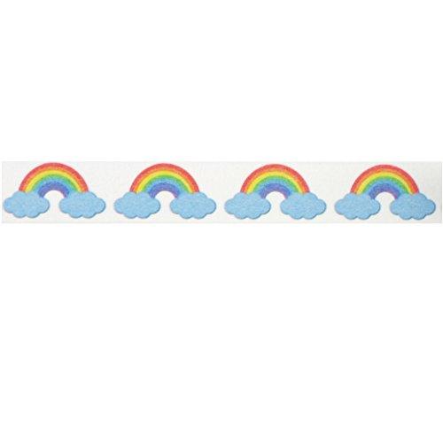 Rainbow Clouds Washi Tape (1 Roll - 9/16