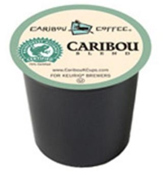 Green Mountain Coffee Roasters Gourmet Single Cup Coffee Caribou Blend Caribou Coffee 12 K-Cups 222560