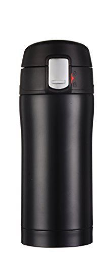 Kooyi Vacuum Insulated Travel Coffee Mug, One-handed Open and Drink, 100%...