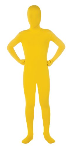 Child's Yellow Second Skin Suit, Large - Cheap Zentai Costumes