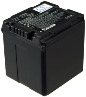 HDC-HS100 Camera Battery HDC-HS250K GAXI Battery Replacement for Panasonic GS98GK Compatible with Panasonic H288GK H48H68GK HDC-HS20K