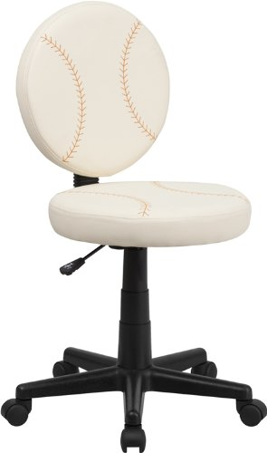 Flash Furniture Baseball Swivel Task Chair ()