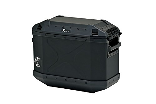 HEPCO & BECKER (Hepuko and Becker) XPLORER (Explorer) side case 30 left aluminum + reinforced plastic 30L Black 610213-0001