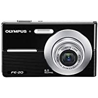 Olympus FE-20 8MP Digital Camera (Black)