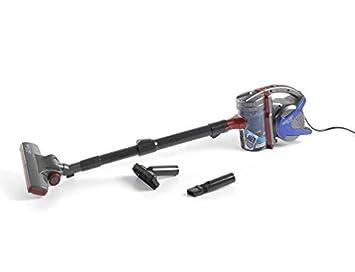 ECO-DE Aspirador de Mano ciclónico con Filtro Cyclone Brush sin Bolsa, 600 W, 0,5 L de Capacidad, Color Azul/Rojo: Amazon.es: Hogar