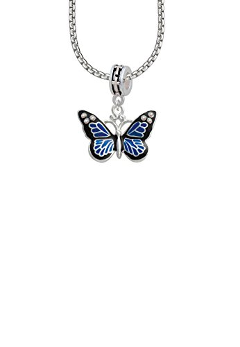 large-blue-butterfly-with-6-ab-crystals-cross-bead-necklace
