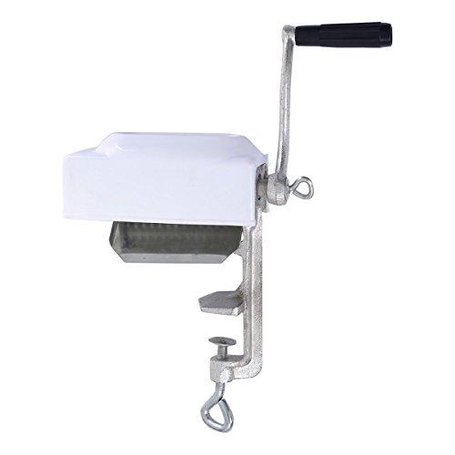 - Goplus Manual Meat Cuber Tenderizer Heavy Duty Stainless Steel Flatten Hobart Kitchen Tool (Silver)