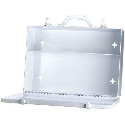 Empty Metal Industrial Cabinet- 2 Shelf