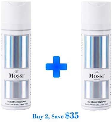 The Mossi London Hair Loss Shampoo x2