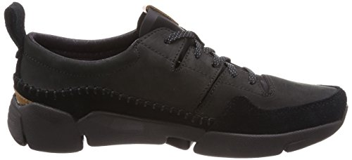 Nubuck Run Black Suede Mens Active Clarks Tri Trainers TqRpIwf