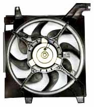TYC 600580 Hyundai Elantra Replacement Radiator Cooling Fan (Hyundai Tiburon Radiator Cooling Fan)