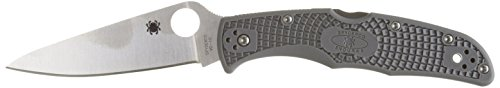 Spyderco Endura4 Lightweight FRN Flat Ground Serrated Knife