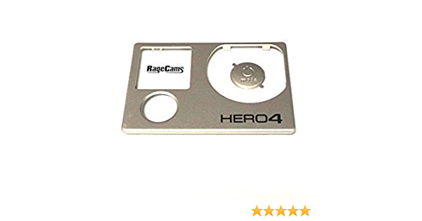 Face Plate Front Cover for The GoPro Hero4 Black & Silver Edition