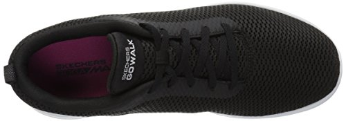 Skechers White Walk Black Go Paradise Noir Femme Joy Baskets 8q85Tr