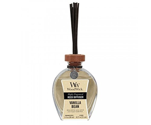 WoodWick Reed Diffuser 3oz Vanilla Bean by WoodWick
