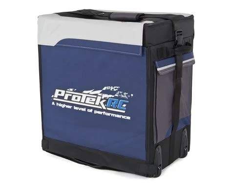 - ProTek RC Buggy Super Hauler Bag with Plastic Inner Boxes (1/8 Scale)