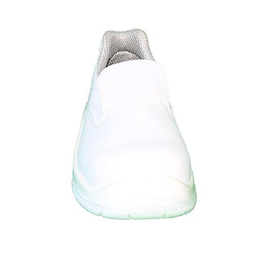 Cool Foot - Calzado de protección de Piel para mujer Blanco blanco