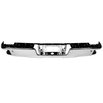 Price comparison product image New Rear Step Bumper Bar For 2014-2018 GMC Sierra 1500,  GMC Sierra Denali,  With Corner Step,  With Park Assist Sensor Holes GM1102557 23108141
