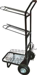 "Abetta Saddle Dolly-Rack System - Black - 63 X 24 X 19"""