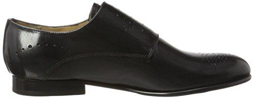 Melvin & Hamilton Sally 39, Women's Loafers Black (Crust Black, Hrs Black Crust Black, Hrs Black)