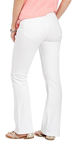 Silver Jeans Co. Women's Suki White Boot Cut Jean 33W White by Silver Jeans Co. (Image #2)