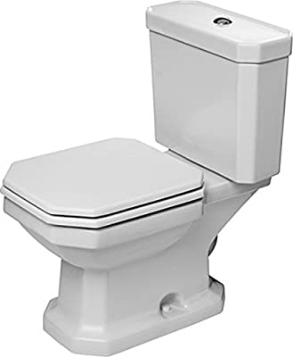 Duravit 2130010000 Two-Piece Toilet, White