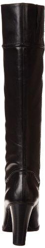 Enzo Angiolini Frauen Sabyl Pumps rund Leder Fashion Stiefel Black Leather