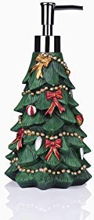 Greendisplay Christmas Tree Soap/Lotion Dispenser (Soap Dispensers Christmas)