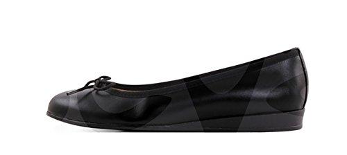 Negro Piel Abril 210AB Zapato Se ora 7X7YPU1