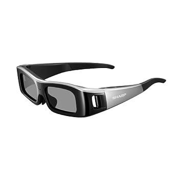 Image of Sharp HE AN310G10-S Active Matrix 3D Glasses - Black 3D Glasses
