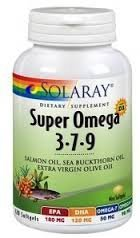 Omega 3-7-9 Solaray 120 Softgel by Solaray